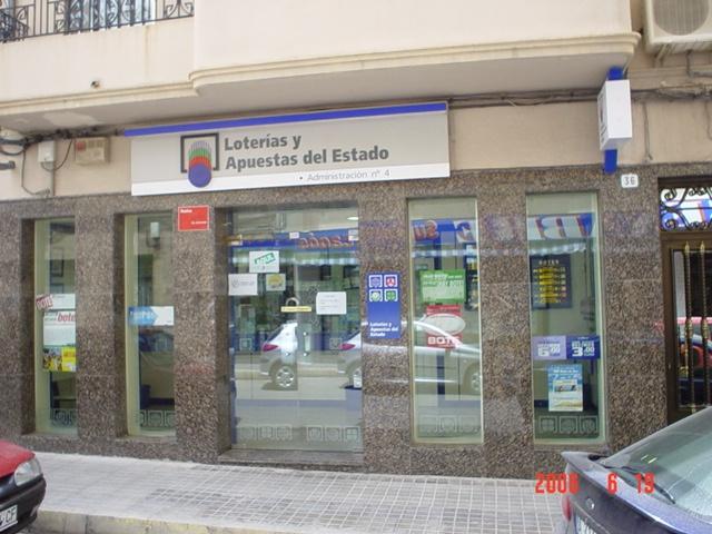 El segundo premio de La Bonoloto, vendido en Elda (Alicante)