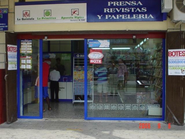 Un boleto de La Bonoloto deja  182.000 euros en Alicante