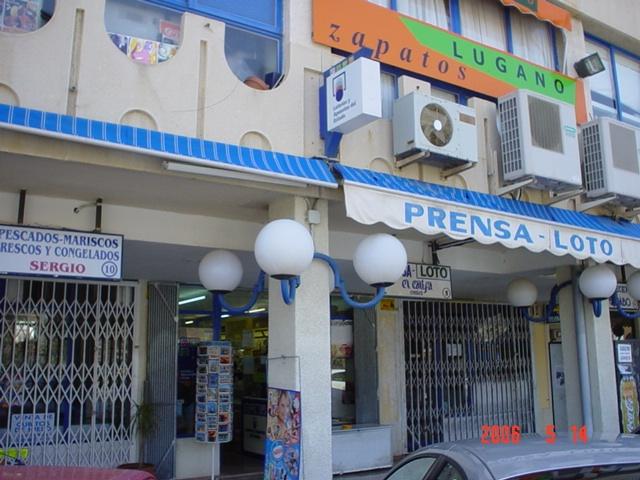 El primer premio de   La Primitiva cae en Alicante