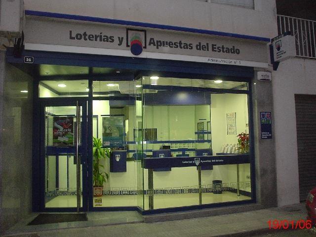 Un acertante de La Bonoloto gana en Antas 28.000 euros