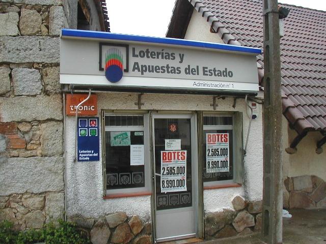 Un boleto de La Bonoloto validado en La Adrada resulta agraciado con 178.000 euros