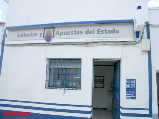 El primer premio de La Primitiva deja 536.000 euros en La Roca De La Sierra