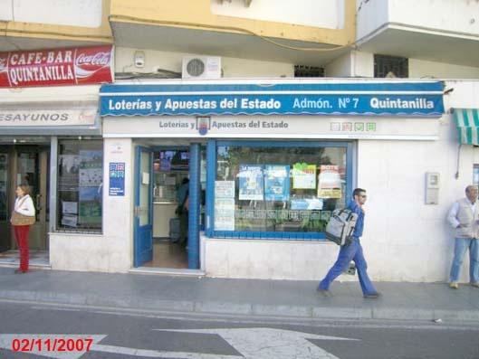 El sorteo de  El Euromillones deja en Mérida un segundo premio dotado con 4.698.000 euros