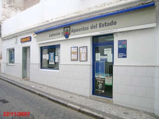 Un boleto de La Bonoloto deja  287.000 euros en Villafranca De Los Barros