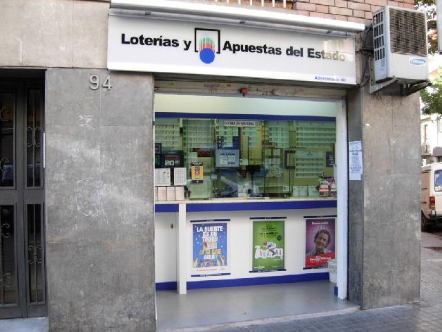 Barcelona agraciada con el segundo premio de La Bonoloto