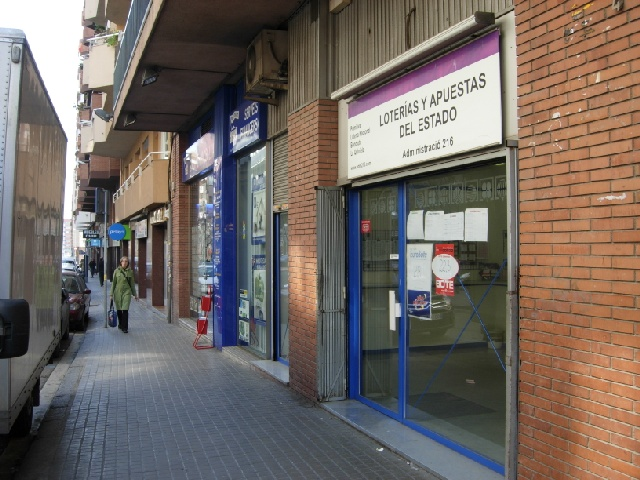 Aparece un premio de segunda categoría del El Euromillones validado en Barcelona