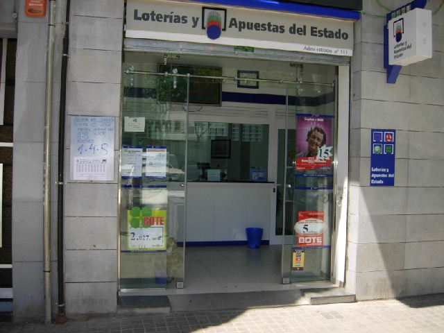 El segundo premio de   La Bonoloto cae en Barcelona