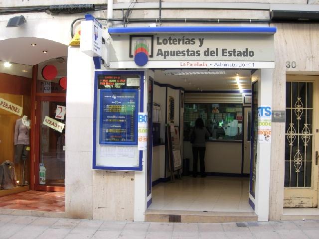 La Bonoloto del Miércoles reparte suerte en Vilafranca Del PenedÈs