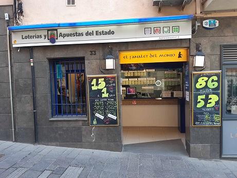 La Bonoloto deja un premio de 80.000 euros en Sant Cugat Del VallÈs