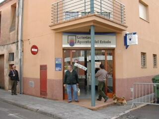 Aparece un premio de segunda categoría del La Primitiva validado en Sant Celoni