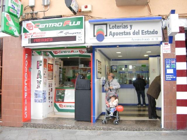 La Bonoloto. El segundo premio deja  38.000 euros en Santa Coloma De Gramenet