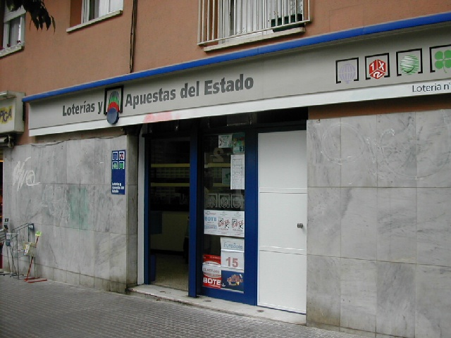 El segundo premio de La Bonoloto deja 57.000 euros en Esplugues De Llobregat