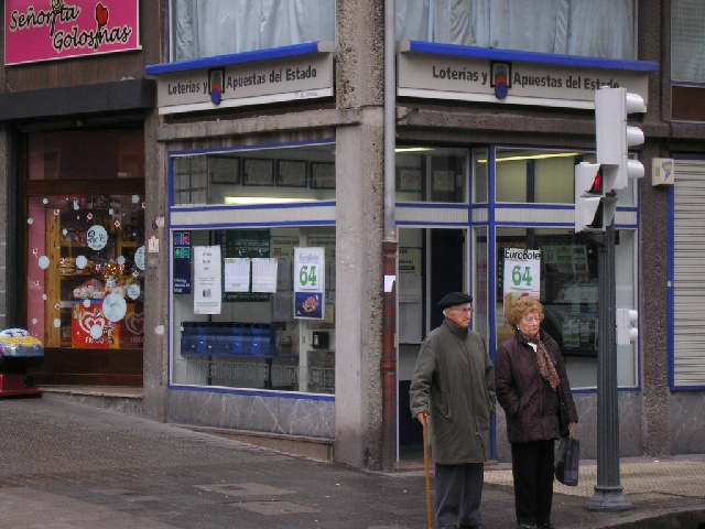 Vendido en Bilbao el segundo premio de La Bonoloto, dotado con 94.000 euros