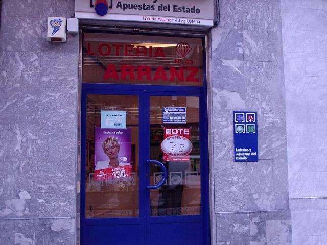 Bilbao reparte 1.626.000 euros del primer premio de La Primitiva