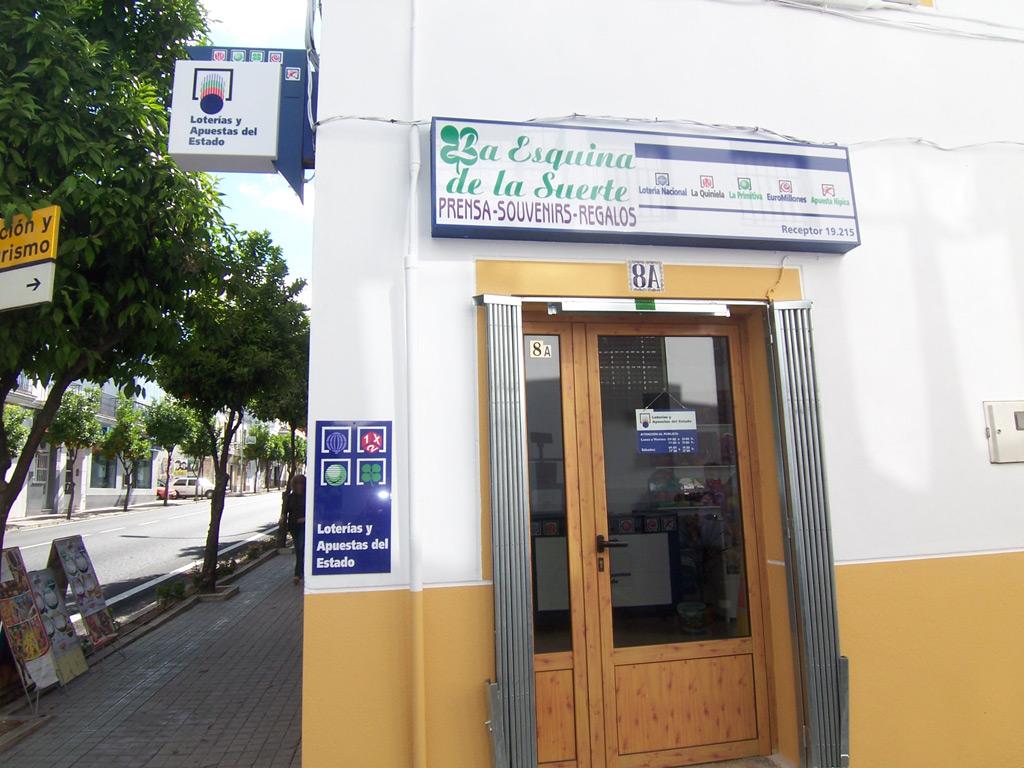 Aterriza en la localidad de Valencia De Alcántara el segundo premio de La Bonoloto.