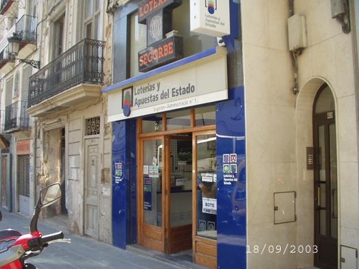 El segundo premio de La Bonoloto, vendido en Segorbe (Castellon)