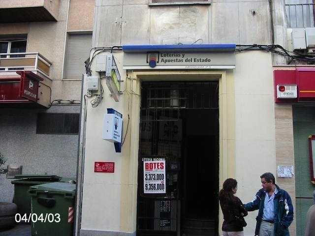 Un boleto de La Bonoloto deja  91.000 euros en Córdoba