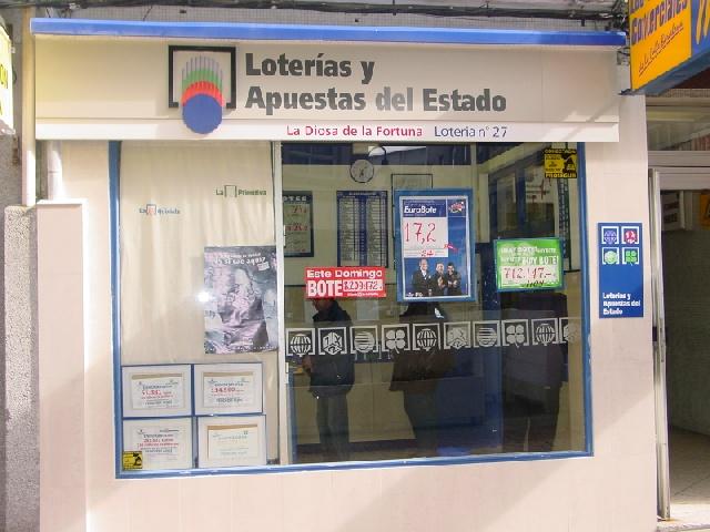 La localidad de Coruña A ha sigo agraciada con el segundo premio de La Bonoloto.