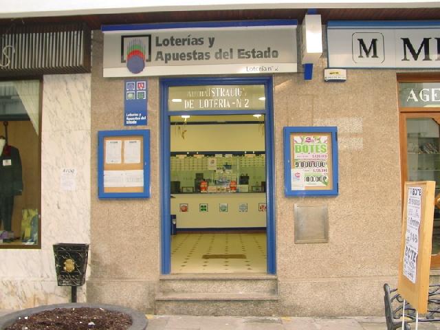 Un boleto de La Bonoloto validado en Padrón resulta agraciado con 43.000 euros