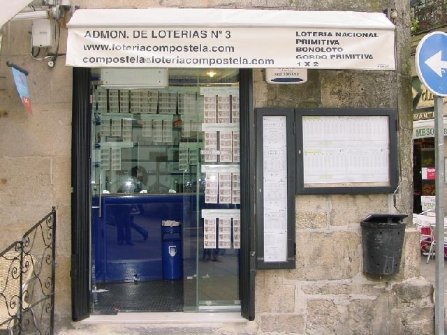 El segundo premio de El Euromillones deja 154.000 euros en Santiago De Compostela