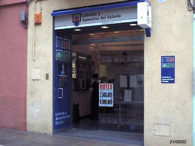 La Bonoloto deja en Figueres, en Girona, más de 575.000 euros