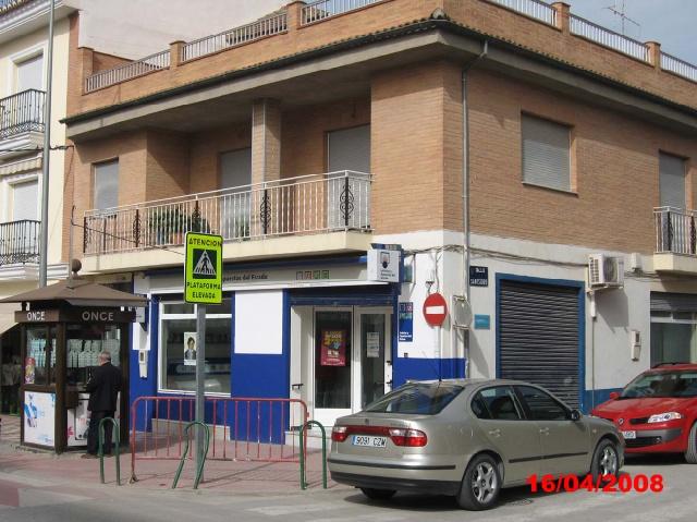 La localidad de Albolote ha sigo agraciada con el primer premio de La Bonoloto.