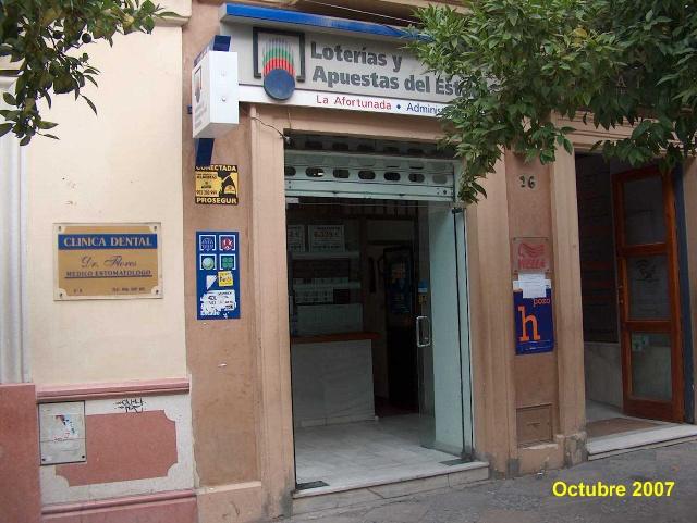 La Bonoloto deja un buen pellizco en Jerez De La Frontera