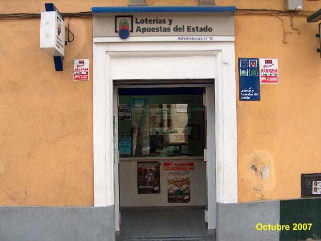 Vendido en Jerez De La Frontera el primer premio de La Bonoloto, dotado con 300.000 euros