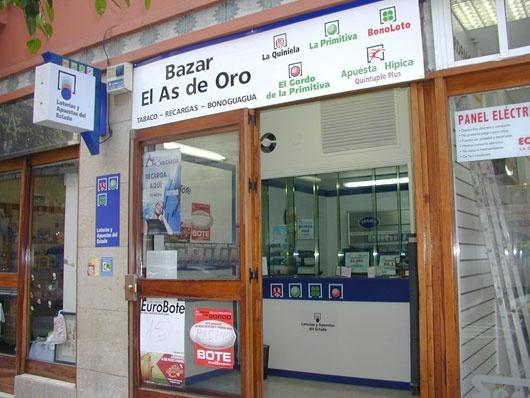 Un boleto de La Bonoloto sellado en Las Palmas Gc ha obtenido un premio de 1.944.000 euros