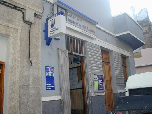 La localidad de Las Palmas Gc ha sigo agraciada con el segundo premio de La Bonoloto.