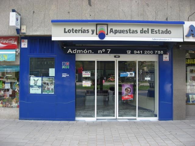 Un vecino de Logroño agraciado con 155.000 en La Bonoloto