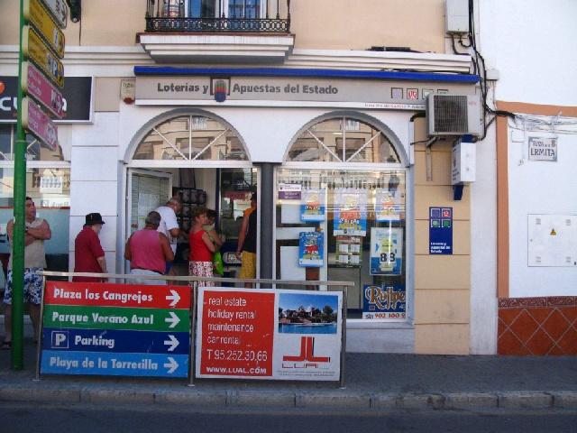 La Bonoloto deja mas de 53.000 euros en Nerja (Malaga)