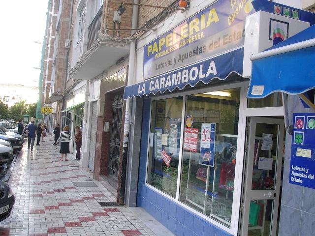 La Bonoloto. El segundo premio deja  81.000 euros en Málaga