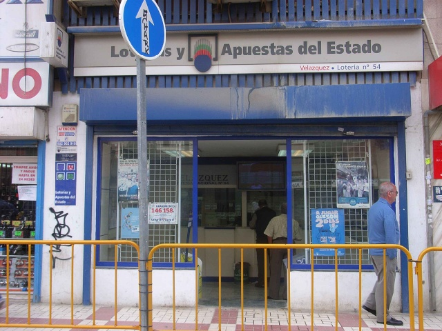 Vendido en Málaga el segundo premio de La Bonoloto, dotado con 160.000 euros