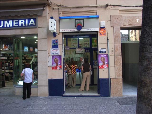 La Primitiva deja un acertante de segunda categoría en Málaga este Sábado