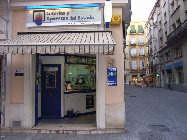 Málaga reparte 223.000 euros del primer premio de La Primitiva