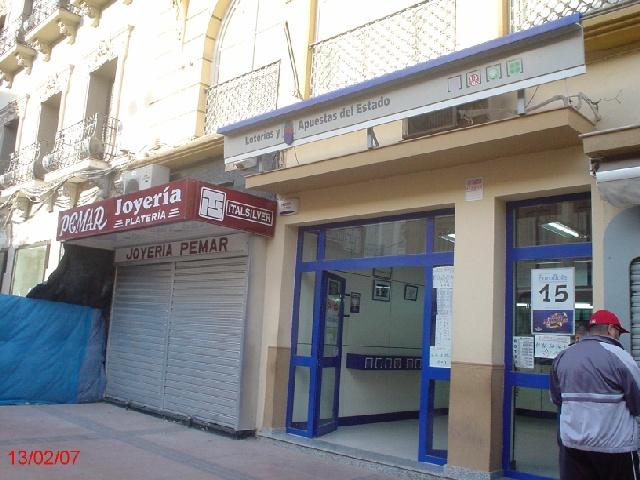 El sorteo de  La Bonoloto deja en Melilla un segundo premio dotado con 188.000 euros