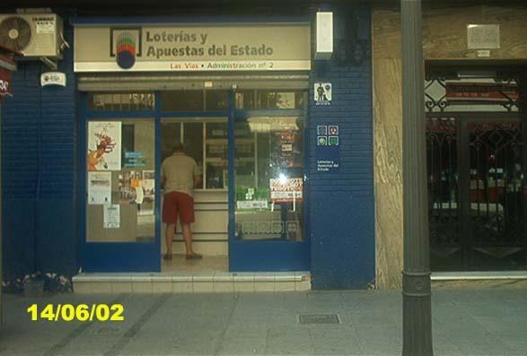 Un boleto de La Bonoloto deja  130.000 euros en Alcantarilla