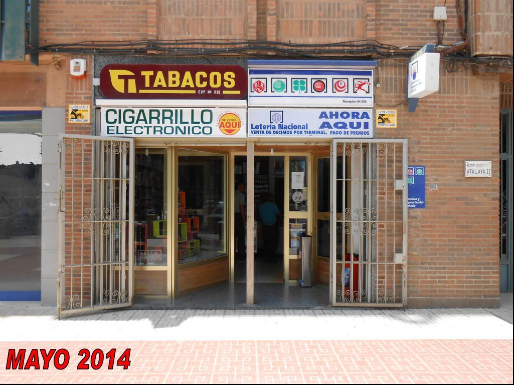 Los cartageneros agraciados con el primer premio de  La Bonoloto