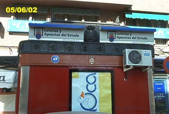 Un boleto de La Bonoloto sellado en Cartagena ha obtenido un premio de 53.000 euros