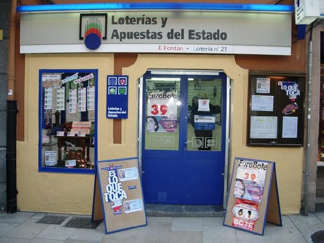 Un boleto de La Bonoloto sellado en Oviedo ha obtenido un premio de 80.000 euros