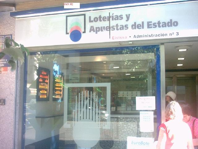 El primer premio de La Primitiva, vendido en Ibiza (Baleares)
