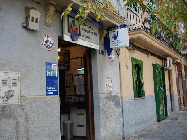 Un boleto de La Bonoloto sellado en Palma De Mallorca ha obtenido un premio de 156.000 euros