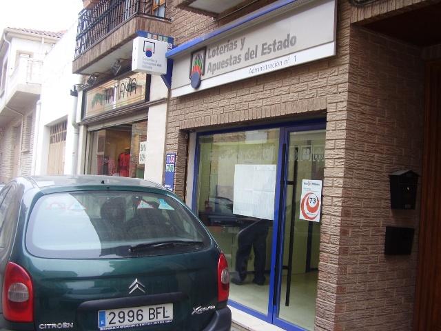Un boleto de La Bonoloto deja  13.000 euros en San Adrián