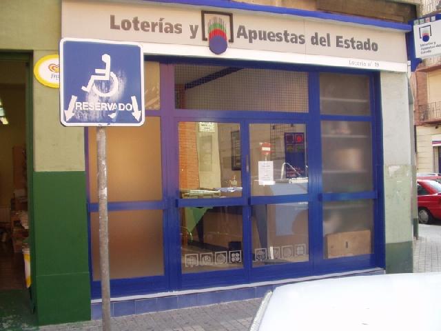 Aterriza en la localidad de Pamplona el segundo premio de La Bonoloto.