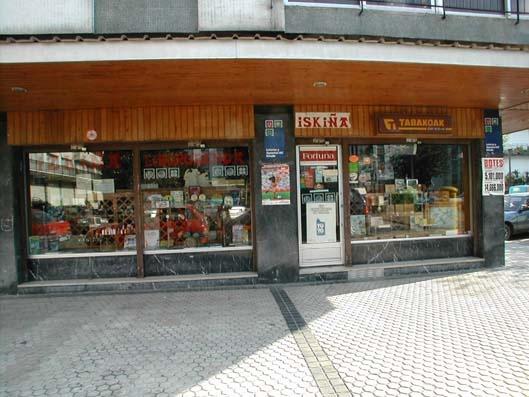 Vendido en Lasarte-oria el segundo premio de La Bonoloto, dotado con 49.000 euros