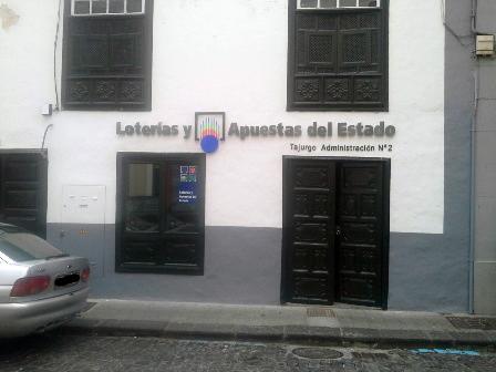 La Bonoloto deja en Santa Cruz De La Palma un premio de segunda categoría dotado con 50.106 euros