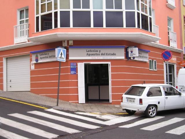 Vendido en Breña Alta el segundo premio de La Bonoloto