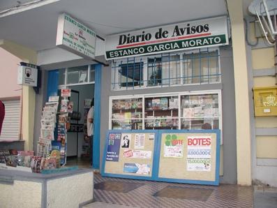 Aparece un premio de segunda categoría del La Bonoloto validado en Santa Cruz De Tenerife