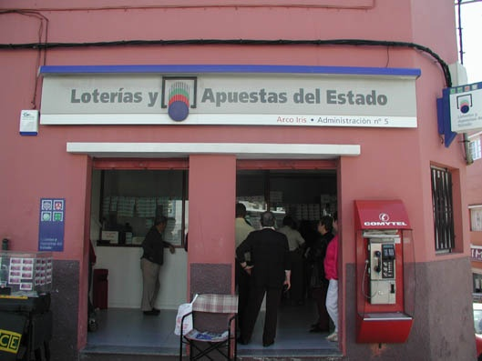 Vendido en San Cristóbal De La Laguna el segundo premio de La Bonoloto, dotado con 54.000 euros